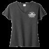 LadiesV-Neck T-shirt black