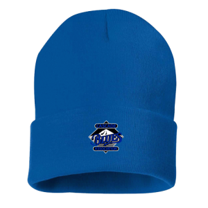 "Sportsman 12"" Solid Knit Beanie - Royal Blue"