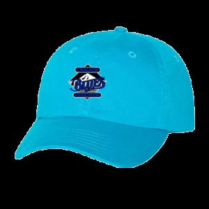 Classic Dad's Cap - Neon Blue