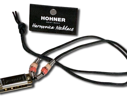 Hohner harmonica necklace